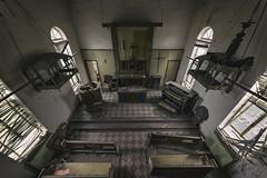 (o texano) Tags: texas abandoned decay forgotten urbex hospital chapel