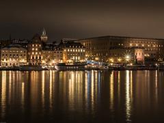 Stockholm by Night (verweile.doch) Tags: night water light stockholm schweden sweden altstadt gamlastan verweiledoch