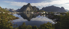 Reine (ravnhenkel) Tags: reine canon 6d reflections mountains morning travel norge norway summer arctic