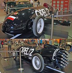 Rocket Opel (Schwanzus_Longus) Tags: techno classica essen german germany old classic vintage car vehicle record speed land rocket powered opel rak2 rak 2