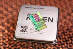 AMD@14nm@Zen(Zeppelin)@Raven_Ridge@Ryzen_3_2200G@YD2200C5M4MFB_AN_1750SUT_9HA7534X70147__DSC09594 (FritzchensFritz) Tags: macro makro amd raven ridge ryzen 3 2200g quad 4 core ccx vega cpu 14nm chip die shot silicon ceramic keramik gpupackage package gpudie dieshots dieshot waferdie wafer wafershot vintage open cracked size