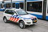 Dutch police Volkswagen Touareg (Dutch emergency photos) Tags: politie police polizei policia polis politi polisie volkswagen vw touareg touareq 112 999 911 emergencu vehicle 4x4 car emergency nederland nederlands nederlandse netherlands dutch amsterdam armored armour 87gkj3