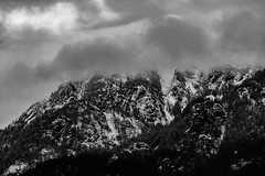 sunday (ashtenphoto) Tags: mountains mountainscape mountain pacific northwest pnw black white bw detail clarity sharp pentax