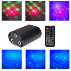 5W RGB Laser Remote Control LED Stage Lighting Projector For Disco Xmas Party (995173) #Banggood (SuperDeals.BG) Tags: superdeals banggood lights lighting 5w rgb laser remote control led stage projector for disco xmas party 995173