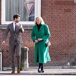 Burgemeester Pauline Krikken en  woordvoerder Daan Bonenkamp thumbnail