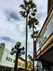 Ybor City (Max Laskin) Tags: contrast tampa sky clouds trees lamps buildings old architecture