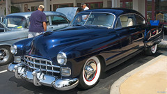 1948 Cadillac Series 61 Coupe (Pat Durkin OC) Tags: 1948cadillac series61 coupe sedanet sedanette streamliner restomod blue whitewalltires