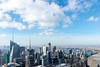 Top of the Rock (MikePScott) Tags: bankofamericatower buildings builtenvironment camera clouds featureslandmarks hudsonriver lens manhattan newyork newyorkcity nikon2470mmf28 nikond600 river rockefellercenter sky skyscraper topoftherock topography usa waterway