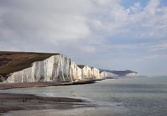 South Downs (Splat Photo) Tags: south downs olympus em1 1240f28 1240 1240mm 1240pro east sussex coast sea shore cliffs white beach cuckmere haven