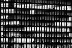 on - off (maotaola) Tags: onoff blancoynegro blackandwhite geometriegeometry geometrygeometrie geometría lines líneas light geometricfacade europäischezentralbank europeancentralbank windows mono rectangles rectángulos fillframe