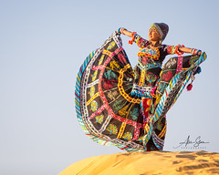 Homage to the Sun (Jaisalmer, India 2015) (Alex Stoen) Tags: 1dx alexstoenphotography canoneos1dx ef70200f28lisusm geotagged homage india model samsanddunes sun sunset thardesert travel vacation creativecomposition