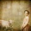 la laitière et sa vache (skaradogan) Tags: milkmaid cow rural country texture romantic thelittledoglaughed artistictreasurechest