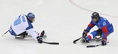 Paralympic_IceHockey_Korea_Italy_04 (KOREA.NET - Official page of the Republic of Korea) Tags: 평창 2018평창동계패럴림픽 강릉시 강릉하키센터 강릉올림픽파크 파라아이스하키 아이스하키 2018pyeongchangwinterparalympic paralympics icehockey gangneunghockeycenter bronzemedalgame
