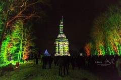 _T1A4982 Der Hermann leuchtet - 8 (idunavision) Tags: detmold light art video event night blue hour