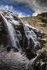 Cascada de Sotillo (ponzoñosa) Tags: cascada waterfall sotillo sanabria puebla hiking senderismo frozen congelado ice truchas río river