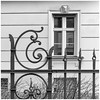 Happy Fenced Friday! (Janos Kertesz) Tags: münchen munich zaun fenster iron metal decoration fence old architecture ornate antique curve house elegance artnouveau jugendstil bayern bavaria