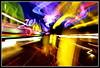BitTwisted (VegasBnR) Tags: nikon sigma lights lighttrails vegas vegasbnr city zoom night paradise street colorful abstract