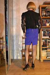 DSC_0056 (magda-liebe) Tags: crossdresser highheels stockings shoes skirt travesti tgirl french fullyfashionedstockings