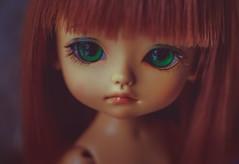 Little Miss Jia <3 (*DollyLove*) Tags: lati yellow jia doll bjd tiny bokeh canon portrait macro little angel sweeties pumpkin tan