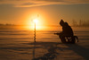 pilkkijä_ice fishing (4) (iisalmiregion) Tags: pilkkijä pilkkiminen ice fishing winter fisherman wintermorning sunrise