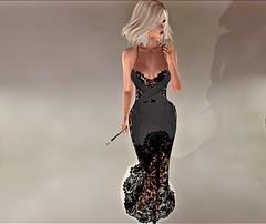 Back To Black...☻ (danaorianaor) Tags: designershowcase jumo minahair