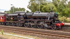44932 Winchfield 5 August 2010 (31) (BaggieWeave) Tags: steamengine steamlocomotive steam steamtrain 44932 black5 blackfive hampshire winchfield cathedralsexpress 460