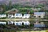 Lochranza castlekirk (Harry McGregor) Tags: landscape tree water reflections houses formerchurch hillside arran lochranza isleofarran ayrshire scotland harrymcgregor nikon d3300 scenery castlekirk