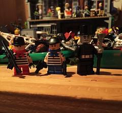 Tablescrap Updates (Lord Allo) Tags: lego dc batman starman tweedledee tweedledum dee dum shade