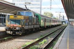 110 034-6 @ Kosice - Slovakia (uksean13) Tags: 1100346 zssk kosice slovakia canon 400d ef28135mmf3556isusm train transport railway rail
