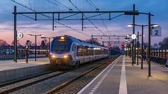 Elst NSR Flirt3 2522 Sprinter 4471 Dordrecht (Rob Dammers) Tags: elst nederland gelderland station trein sprinter spoor train