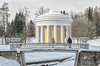 A winter scenery with Temple of Friendship in Pavlovsk park. (g_reg_walker) Tags: russia pavlovsk saint petersburg winter architecture bridge building pavilion construction temple friendship landscape scenery park river slavyanka travel sights excursion sightseeing stroll tourism tourist trip walk view perspective snow