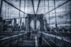 Brooklyn Bridge - New York (TP17) Tags: newyorkcity newyork brooklyn brooklynbridge dumbo historic people street 2018
