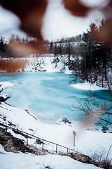 Blauer See - Hütenrode (Gruenewiese86) Tags: 6d blauersee canon harz winter blauer see blau sachsenanhalt hüttenrode winterlandschaft schnee 35mm