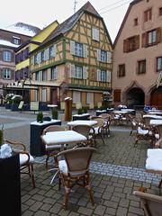 Hors saison / Ribeauvillé / Haut-Rhin / Alsace / 18 mars 2018 (leonmul68) Tags: ribeauvillé hautrhin 68 alsace elsass france hiver neige horssaison