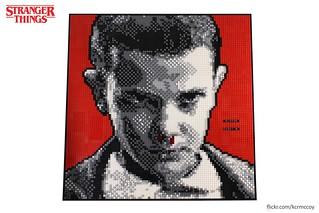 Eleven Portrait - Stranger Things