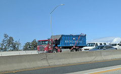 Roll Off Truck 3-16-18 (Photo Nut 2011) Tags: california sanitation wastedisposal waste garbage trash trashtruck garbagetruck refuse junk truck dumpster rolloff