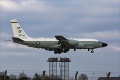 Boeing RC-135V-W Rivet Joint - 9 (NickJ 1972) Tags: raf mildenhall boeing 707 rc135 rivet joint 644845 of ks trips