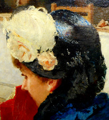 """Hat - Detail of the painting """"At Court of Justice"""" (1882) by Francesco Netti (Santeramo in Colle / Bari 1832-1894) - Pinacoteca Metropolitana at Bari, now at Exhibition """"From De Nittis to Gemito. Neapolitain Painters in Paris during the Impressionism"""" at (Carlo Raso) Tags: hat francesconetti pinacotecametropolitana bari zevallosmuseum naples"""