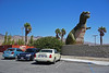 Mr. Rex - Cabazon, CA (SomePhotosTakenByMe) Tags: mrrex palm palme baum tree auto car parkplatz parkingarea urlaub vacation holiday usa america amerika unitedstates california kalifornien cabazondinosaurs dinosaur dinosaurier sculpture skulptur outoftheordinary kurios claudebellsdinosaurs outdoor