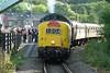 GROSMONT 091009 55022 (SIMON A W BEESTON) Tags: north yorkshire moors railway nymr grosmont goathland 55022 royal scots grey 1d04 hull executive
