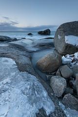 Dusk Boulders, Uttakleiv (Keith - Glasgow) Tags: arctic wildphotographyholidays wph beach seascapes winter travel norway sea lofoten uttakleiv rocks landscapes coast d850 shore nordland no
