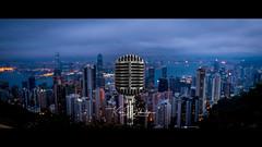 Blue Dawn (Splice Studios Singapore) Tags: sunrise hongkong sony a6500 touit 12mm peak tram cinematic voiceovers splicestudios splice vintage microphone shure limitededition