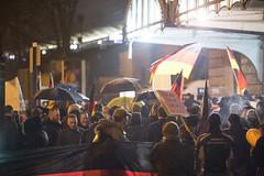 klslene992 (Felix Dressler) Tags: hamburg merkelmussweg kundgebung dammtor protest reichsbürger pegida