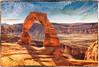Delicate Arch (KPortin) Tags: archesnationalpark delicatearch arch sandstone texture htt