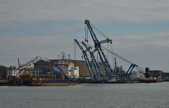 Stemat Spirit, Jan Leenheer en de Matador 1, 2 en 3 (Hugo Sluimer) Tags: portofrotterdam port haven onzehaven nlrtm zuidholland nederland holland