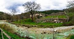 Panoramica_Assisi-Bosco di San Francesco (Santo Salvatore Foggetti) Tags: perugia assisi fiume casale casolare albero campagna collina paesaggio verde sony sonya7 sonyilce7 foggetti torrente erba quercia