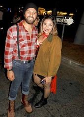 DSCN3901 (danimaniacs) Tags: westhollywood halloween costume man guy hot sexy smile beard scruff cap hat lumberjack