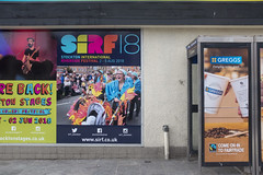 SIRF 18 (new folder) Tags: stocktonontees stockton countrydurham northeast teesside typography sirf sirf18 flyposter advertising phonebook greggs stocktoncalling