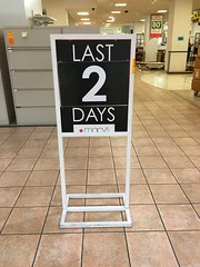 Last 2 Days Macy's Former Burdines Closing (Phillip Pessar) Tags: last 2 days macys former burdines closing sign department store florida