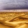 Desert under the rain (keltia17) Tags: desert storm rain pluie alluvia nuages clouds uae eau sans dunes dunas